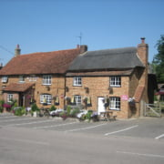 The Red Lion – situated in the heart of the village of Marsworth, close to bridge 130 of the Grand Union Canal.