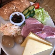 PLOUGHMANS Served with a chunk of granary bread, pickles and coleslaw